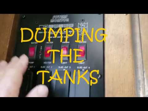 Leaking skylight? And how to properly flush your RV Toilet and maintain RV waste Tanks