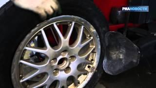 видео Меняем зимние шины на летние