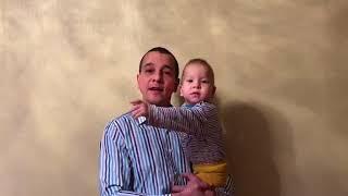 Рустам Сабиров поздравляет Исмагила Шангареева с Днём рождения (Сарман, Татарстан)