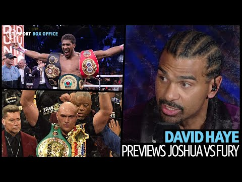 """""""The Ultimate Contest Out There Is AJ Vs Tyson Fury!"""" David Haye Is Hyped For A Potential Showdown"""