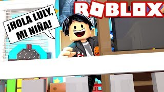 MY NOVIO IS MY FATHER IN ROBLOX (BABY LULY ROLEPLAY) 😱