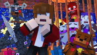 Minecraft FNAF 6 Pizzeria Simulator - BRYAN DIES! (Minecraft Roleplay)