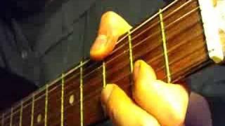 Семиструнный аккорд Ре минор стиль А. Галичa