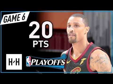 George Hill Full Game 6 Highlights vs Celtics 2018 Playoffs ECF - 20 Points!