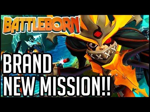 BATTLEBORN BRAND NEW MISSION!! - Battleborn Gameplay - Campaign (PC 1080p 60fps HD)