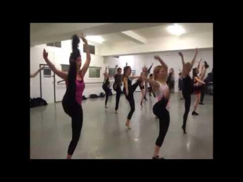Karen Estabrook's Commerical Jazz - Gen/Int level Pt1 @ Pineapple Dance Studios