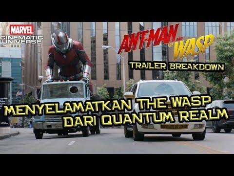 Menyelamatkan The Wasp Pertama Dari Quantum Realm | Ant-Man and The Wasp Trailer Breakdown Indonesia