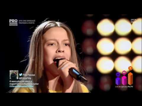 Francesca Hojda - She Wolf Vocea Romaniei Junior