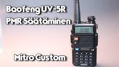 Baofeng UV-5R:n Säätäminen PMR-Taajuuksille