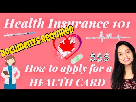 How To Get A Government Health Card In Canada | Health Insurance Canada - Documents Required