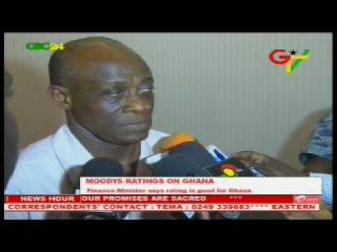 Seth Terkper on Ghana's latest Ratings from Moody's