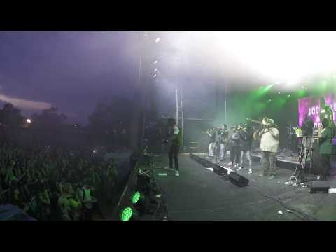"""Joey Bada$$ & The Soul Rebels - """"Save The Children"""" live in New Orleans Voodoo"""