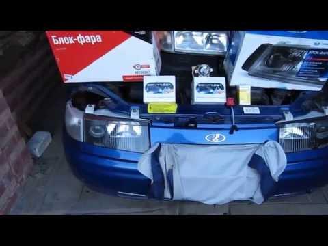 Улучшение света на машине ВАЗ 2110