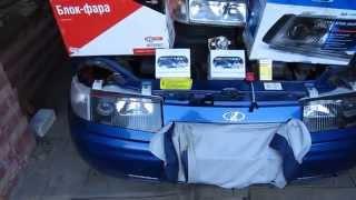 Улучшение света на машине ВАЗ 2110(, 2014-06-30T19:32:52.000Z)
