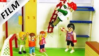 Playmobil Film deutsch   OPA geht für Julian in die Schule   Sportunterricht geht gut?! Kinderserie