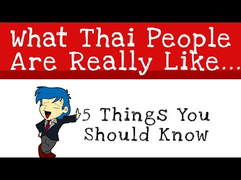 What Thai People Are Really Like