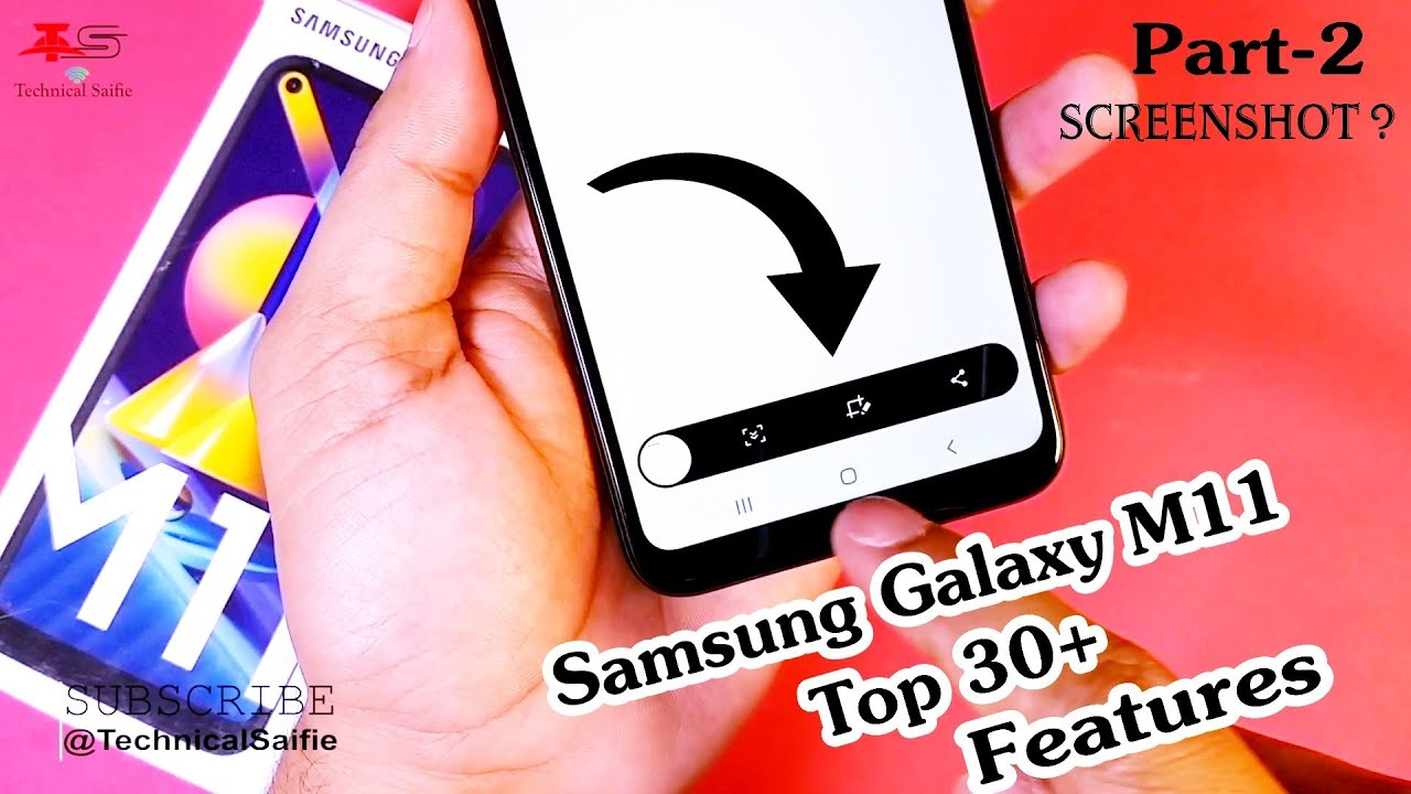 Samsung Galaxy M11 (One Ui 2.0) Top 30+ Features - Brighten Screen, Pin Windows, ScreenShot,Password