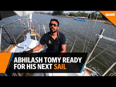 Abhilash Tomy is ready for his next sail