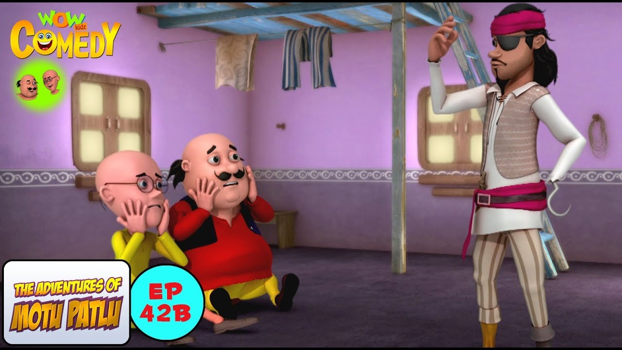 Captain Crook Motu Patlu In Hindi 3d Animated Cartoon