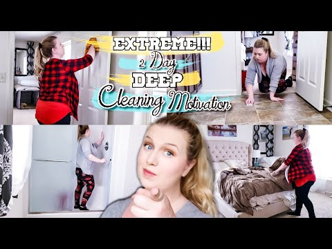 DEEP CLEANING MY HOUSE! HOW TO DEEP CLEAN WITH ME! CLEANING MOTIVATION! LIVING WITH CAMBRIEA