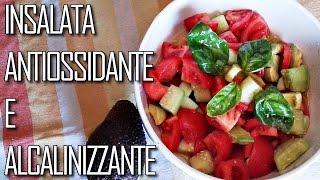 Insalata Antiossidante E Alcalinizzante | Avocado E Pomodoro