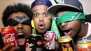BLINDFOLDED FIZZY DRINKS TASTE TEST!!