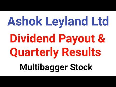 Ashok Leyland Ltd Dividend Payout & Quarterly Results   Ashok Leyland Multibagger Stock 2018-2019