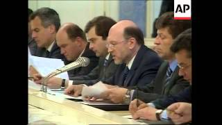 Working group on Chechnya meets for first time