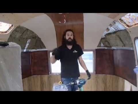 Travel Trailer Interior Wall Panels | RV, Wood, Vinyl