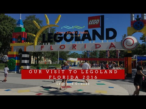 Our Visit to Legoland Florida 2016 (View in HD)