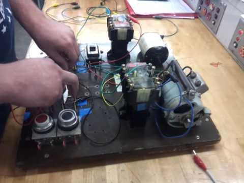 wiring a simple jogging control youtube rh youtube com Control Wiring Color Code Control Wiring Schematics