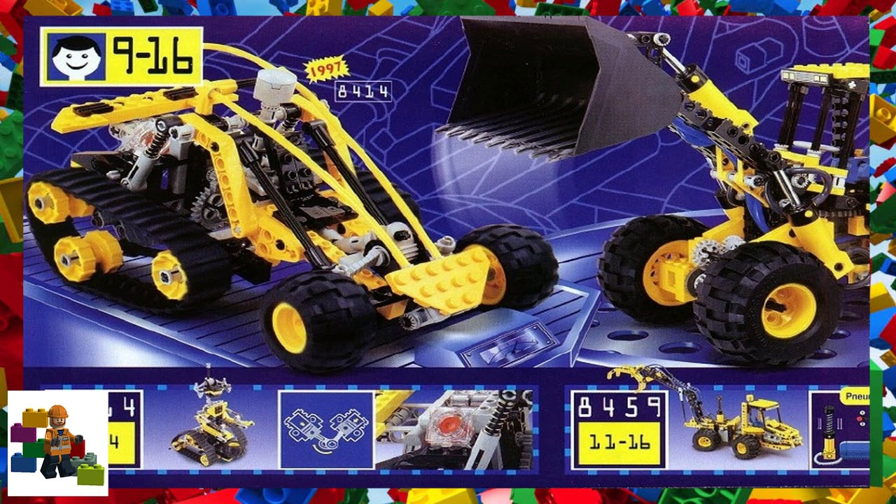 Lego Instructions Catalogs 1997 Lego Catalog Lego Technic