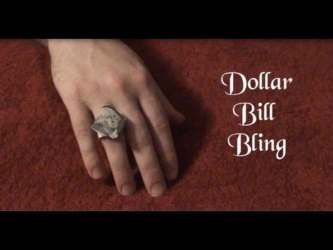 How to Fold a Dollar Bill Ring – DateBox Club | 360x480