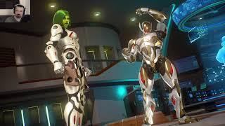 MvC Infinite: Week 2 Online Play pt8 - vs. Gamora/Ultron