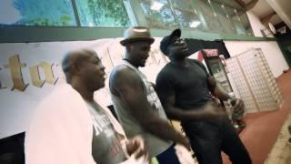 Boxer's Freestyle Rap Session! Kevin Johnson, Anthony Joshua, Malik Scott, James Ali Bashir