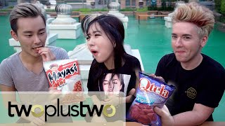 ULTIMATE INDONESIAN SNACKS TASTE TEST feat. SUNNYDAHYE