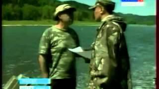 Любительское рыболовство. Хариус(Источник: Вести - Кузбасс, http://vesti42.ru/news/society/0006152/ Рыбалка - традиционный и очень полпулярный досуг миллионов..., 2012-06-07T06:02:47.000Z)