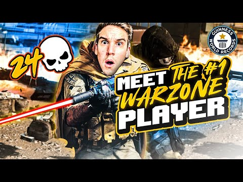 MEET THE #1 BEST WARZONE PLAYER IN THE GAME!! NEW *DUO* WORLD RECORD?!? (WARZONE)