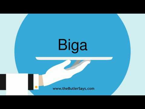 "Learn how to say this word: ""Biga"""
