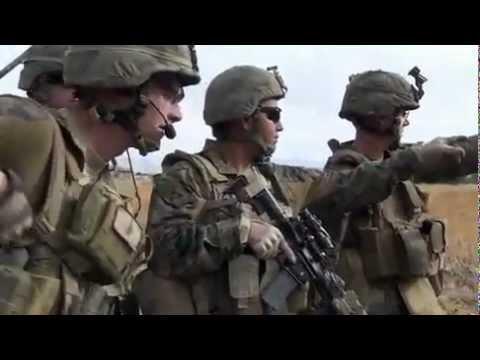 U.S. Marines Patrol In Sangin Province, Afghanistan