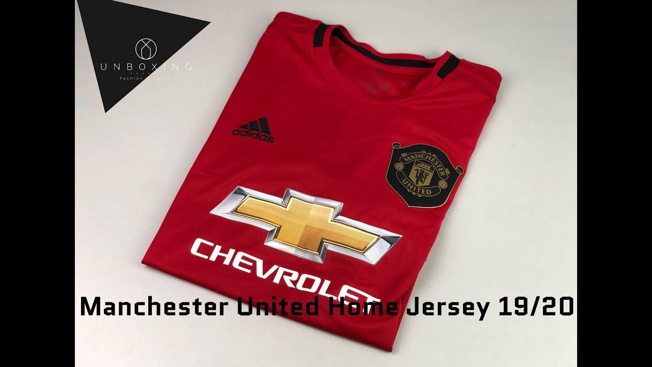 Adidas Manchester United Home Jersey Season 2019 2020 Unpacking Football Jersey 2019 Youtube