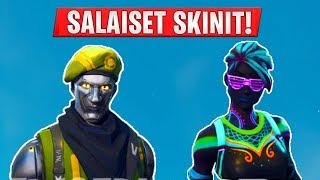 "SEASON 4 SECRET SKINS! -New skins in fortnion! -English ""Fortnite News"""