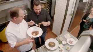 Best In Chow: Gumbo Wars New Orleans - Clip: Cris Tries Raccoon