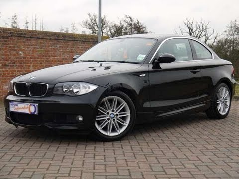 2009 bmw 120d m sport 177 coupe automatic black for sale in hampshire youtube. Black Bedroom Furniture Sets. Home Design Ideas