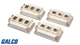 Semiconductors - Power Modules, Transistors, Diodes, SCRs, Triacs and More!