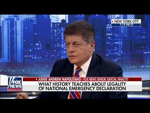 Judge Nap: Trump Would Be 'Biting Off More Than He Can Chew' By Invoking Nat'l Emergency