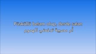 اغنيه تركيه رائعه مترجمة Buray Sen Sevda Mısın Arabic Lyrics