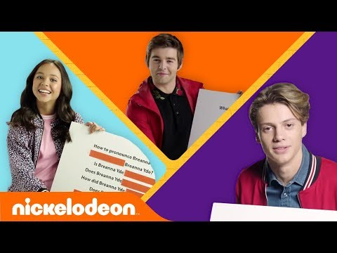 Get to Know Jace Norman, Breanna Yde, & Jack Griffo 🍕 🇬🇧 💍  KnowYourNick