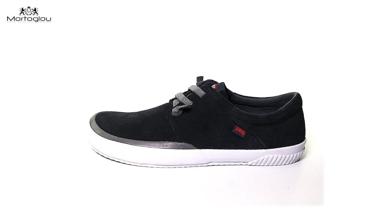 51504746f79 Camper Ανδρικά Παπούτσια Casual K100414 Μαύρο Δέρμα Καστόρι - YouTube