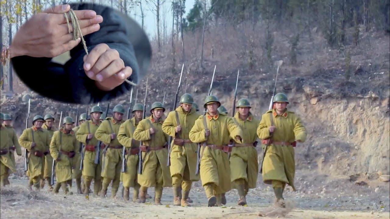 日軍為躲地雷陣,不進村莊繞小路,哪知遊擊隊早有準備!【抗日】